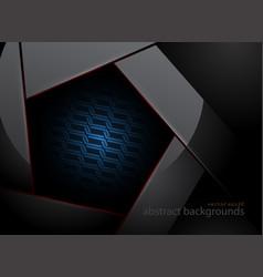 Pentagonal steel vector