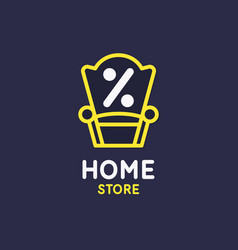 poster store goods for house sale banner vector image