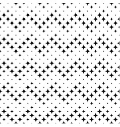 Star pattern background - abstract black vector