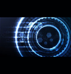 Technological interface future global system vector