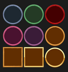 colored frames collections vector image