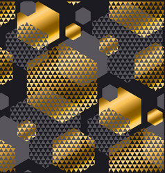 gold and gray color creative repeatable motif with vector image