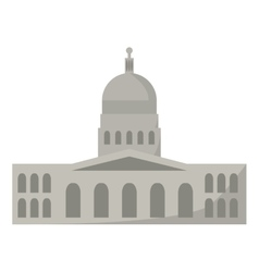 government building of america vector image