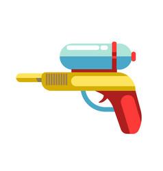 kid toy children plaything water gun icon vector image vector image