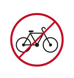 A bicycke bike icon stop dander ride vector
