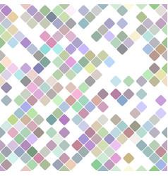 colorful repeating diagonal square pattern vector image