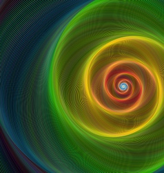 Colorful shiny spiral background vector