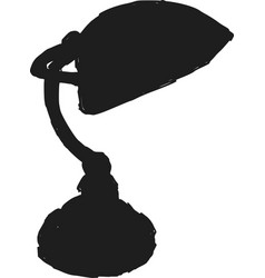 construction lamp vector image