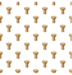Darbuka percussive musical instrument pattern vector
