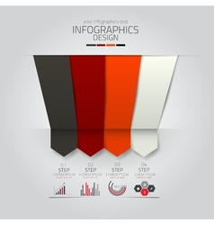 infographics design 9 vector image