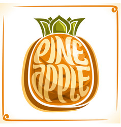 Logo for pineapple vector