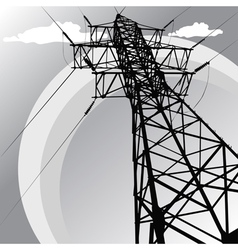 steel pillar vector image