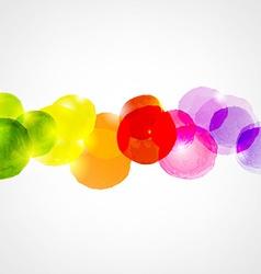 Watercolor Border vector image
