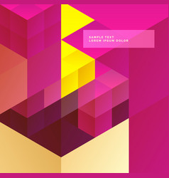 Abstract bright color background vector