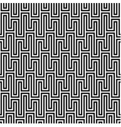 Black and white waveform seamless pattern vector