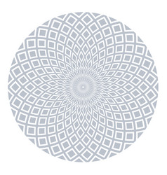 Circle geometric rotation pattern vector