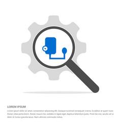 contour medical mechanical tonometer icon search vector image