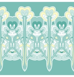 horizontal seamless pattern background ornament vector image