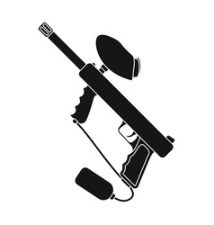 marker for paintballpaintball single icon in vector image