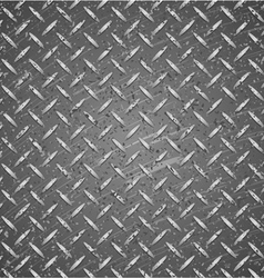 Metal texture silver and black color vector