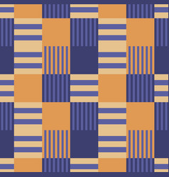 Vertical dominance seamless pattern vector