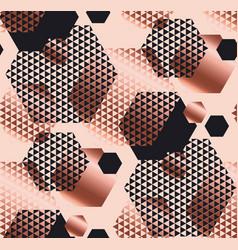 pale rose and black color elegant repeatable motif vector image