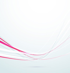 Speed red rapid swoosh lines background vector image vector image