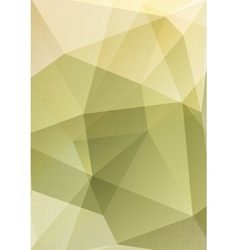 Abstract polygonal geometric design vector