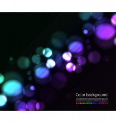 bokeh lights effects vector image