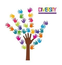 Diversity icon design vector image