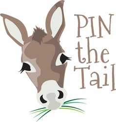 Pin the tail vector