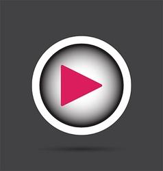 Play icon vector