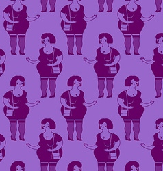 Prostitutes seamless pattern Whore texture vector image