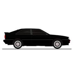 Retro coupe vector