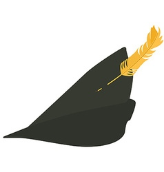 Robin hood hat vector