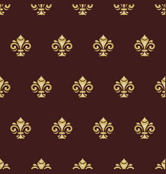 seamless golden pattern modern geometric vector image