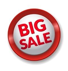Big Sale shadow vector image vector image