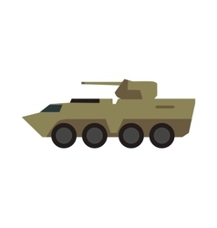 Armored Personnel Carrier vector image vector image