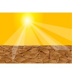 drought africa vector image