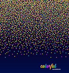 Abstract celebration or party background vector image