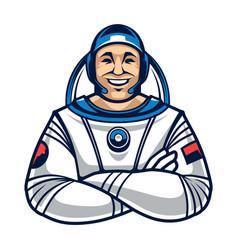 Astronaut character vector
