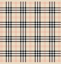 Background in scottish cage vector