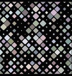 Colorful repeating diagonal square pattern vector