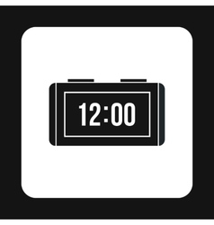 Electronic watch icon simple style vector