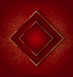 Elegant background with gold glitter vector
