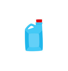 flat car oil canister isolated icon vector image