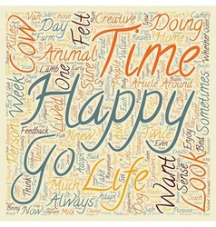 How to enhance your personal happiness text vector