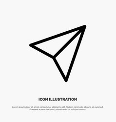 Instagram sets share line icon vector