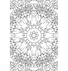 Mandala background Ethnic decorative elements vector image