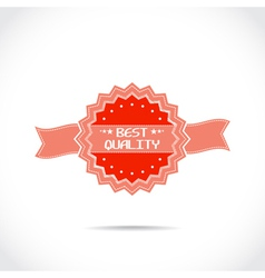 Mark best quality vector